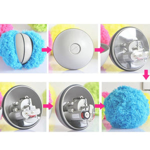 Automatic Rolling Fur Ball + Cleaner