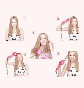 AUTOMATIC INSTANT HAIR CURLER