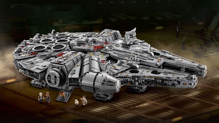 Ultimate Collector's Millennium Falcon - 7500