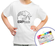 Load image into Gallery viewer, ERP Kids color me t-shirt
