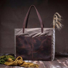 Load image into Gallery viewer, Canvas Tote designed by Tram21