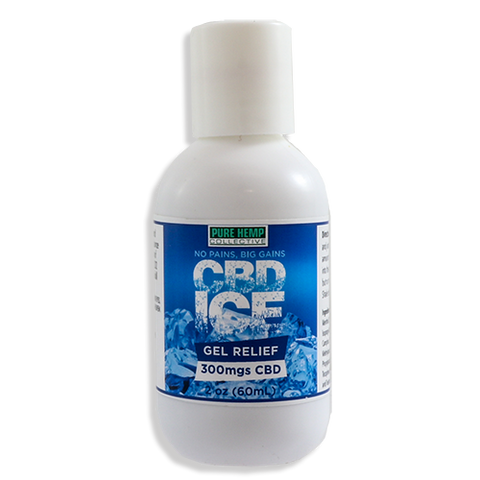ICE-Hemp Menthol Activated Gel 300mg/600mg
