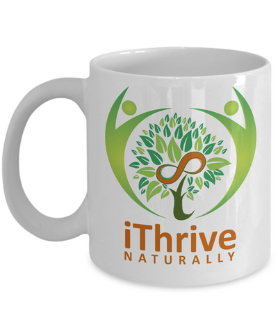 iThrive Naturally Signature Mug -Black or White