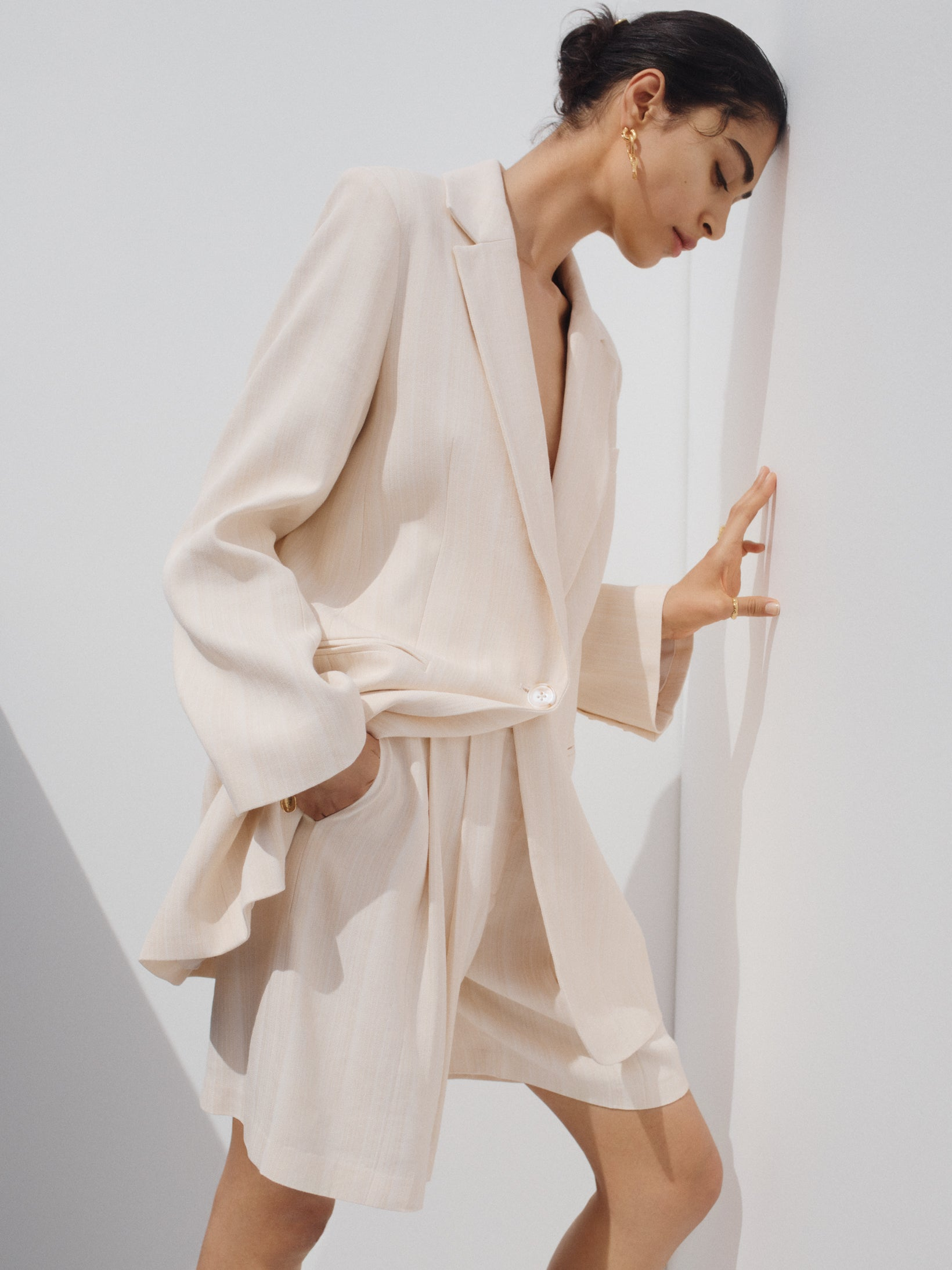 CHIARA Blazer Dress (IVORY)