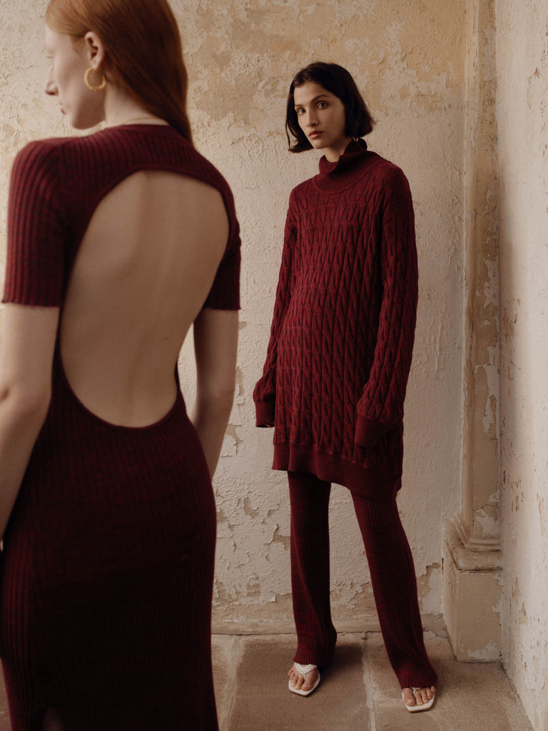 DANTE Sweater (CHERRY)