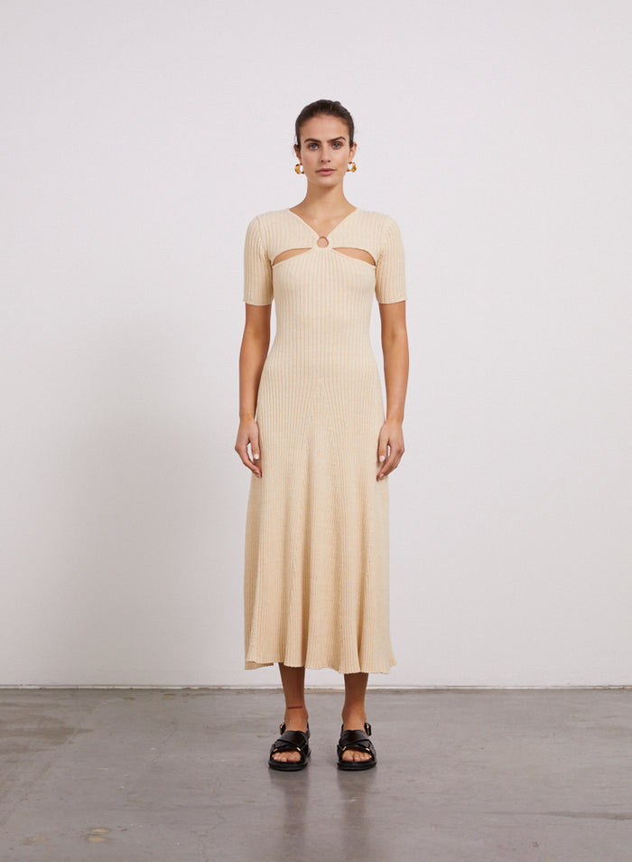 ERIKA Dress (WHEAT)