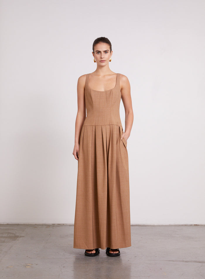 MARYEL Dress (CINNAMON)