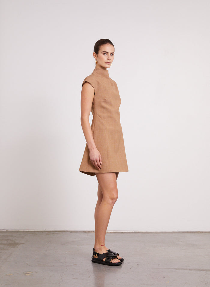 KARLA Dress (CINNAMON)
