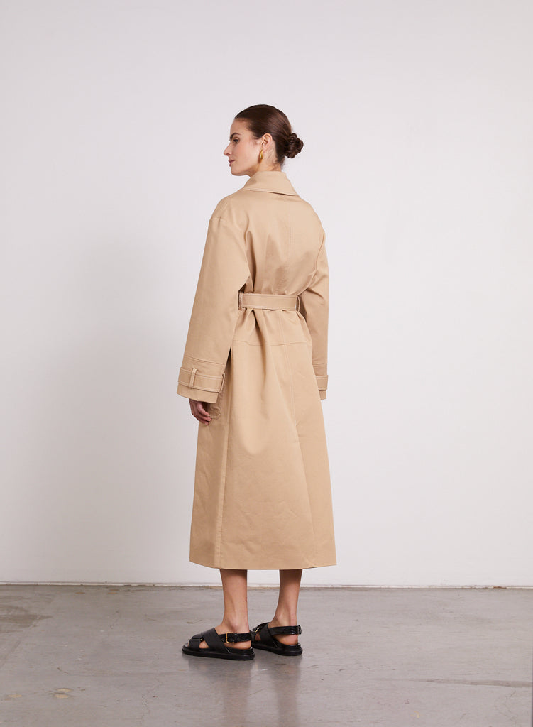 FLETCHER Coat (SEPIA)