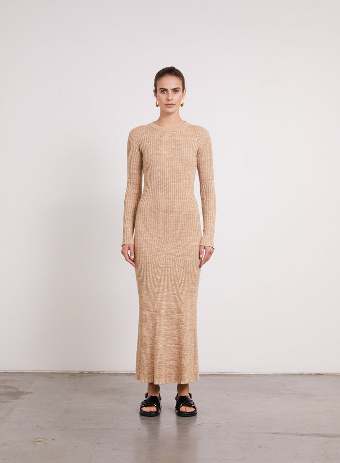 TALIA Dress (MAPLE)