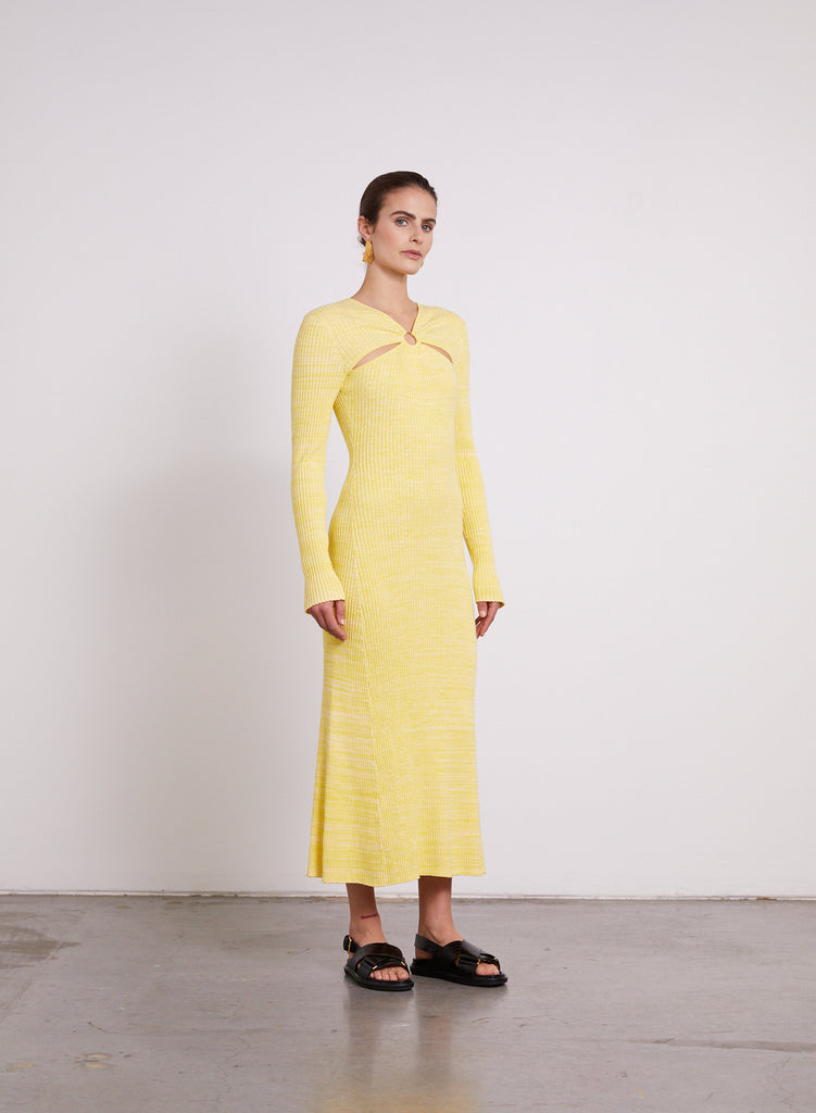 HALLE Dress (LIMONCELLO)