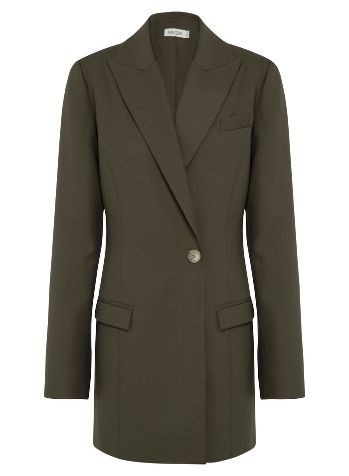 SIENNA Jacket (OLIVE GREEN)