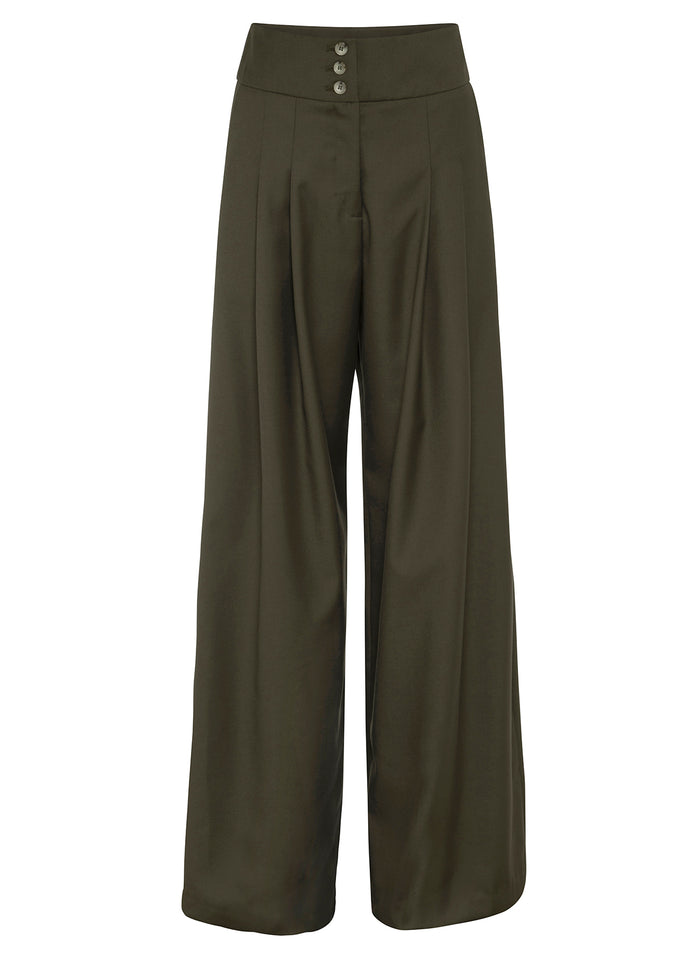 MADISON Pants (OLIVE GREEN)