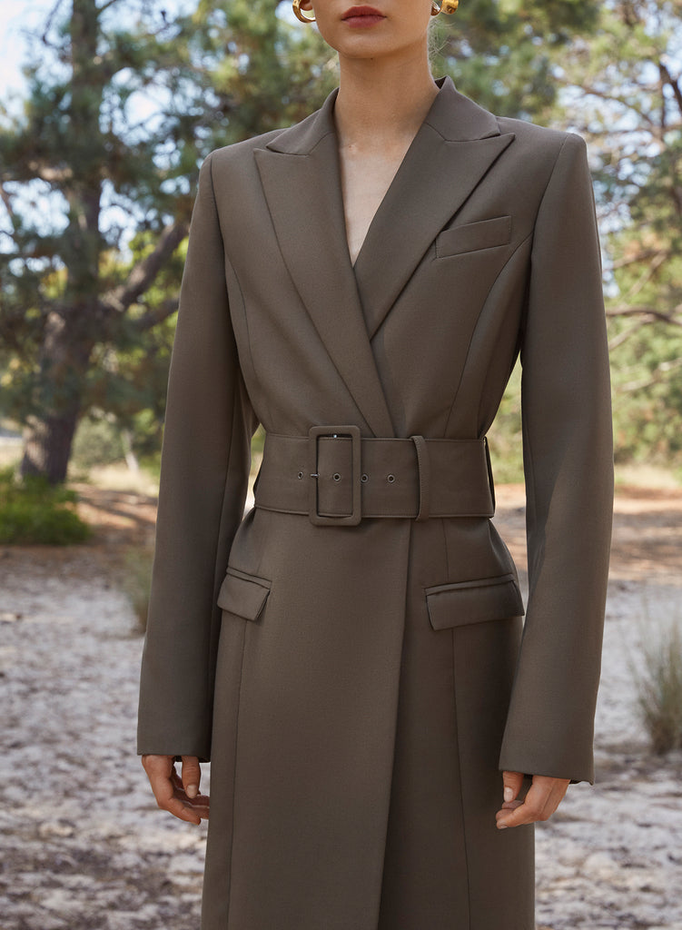 NORA Coat (OLIVE GREEN)