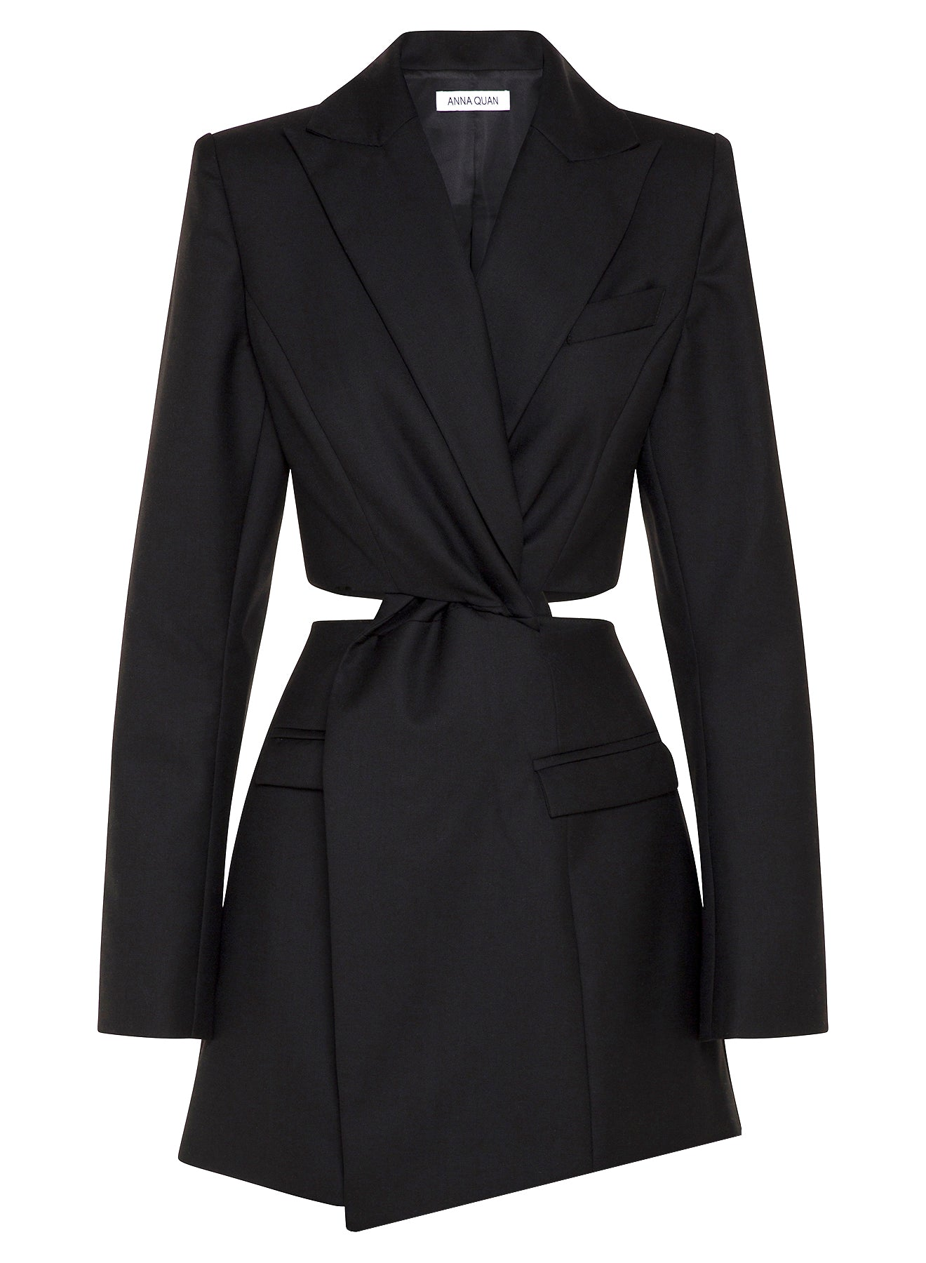 CHIARA Blazer Dress (BLACK)