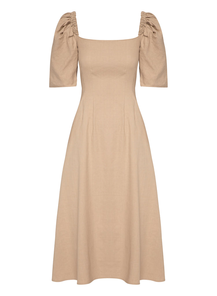 AURA Dress (LATTE)