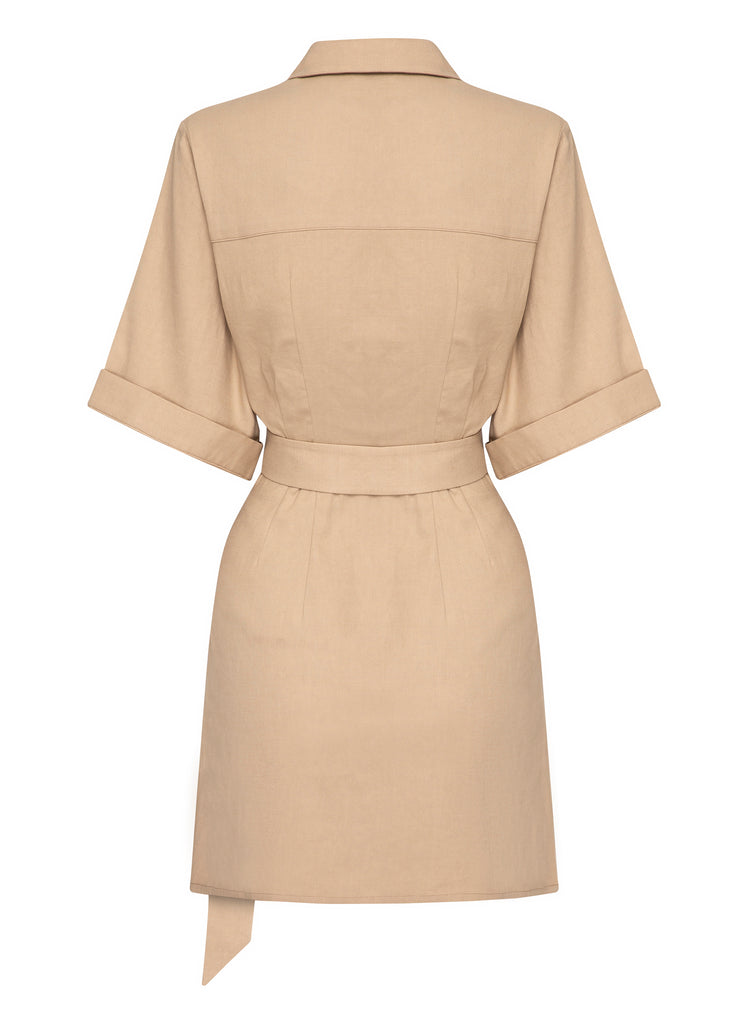 ROBBIE Dress (LATTE)