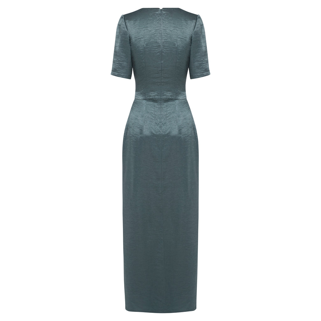 PETRA Dress (GUNMETAL)