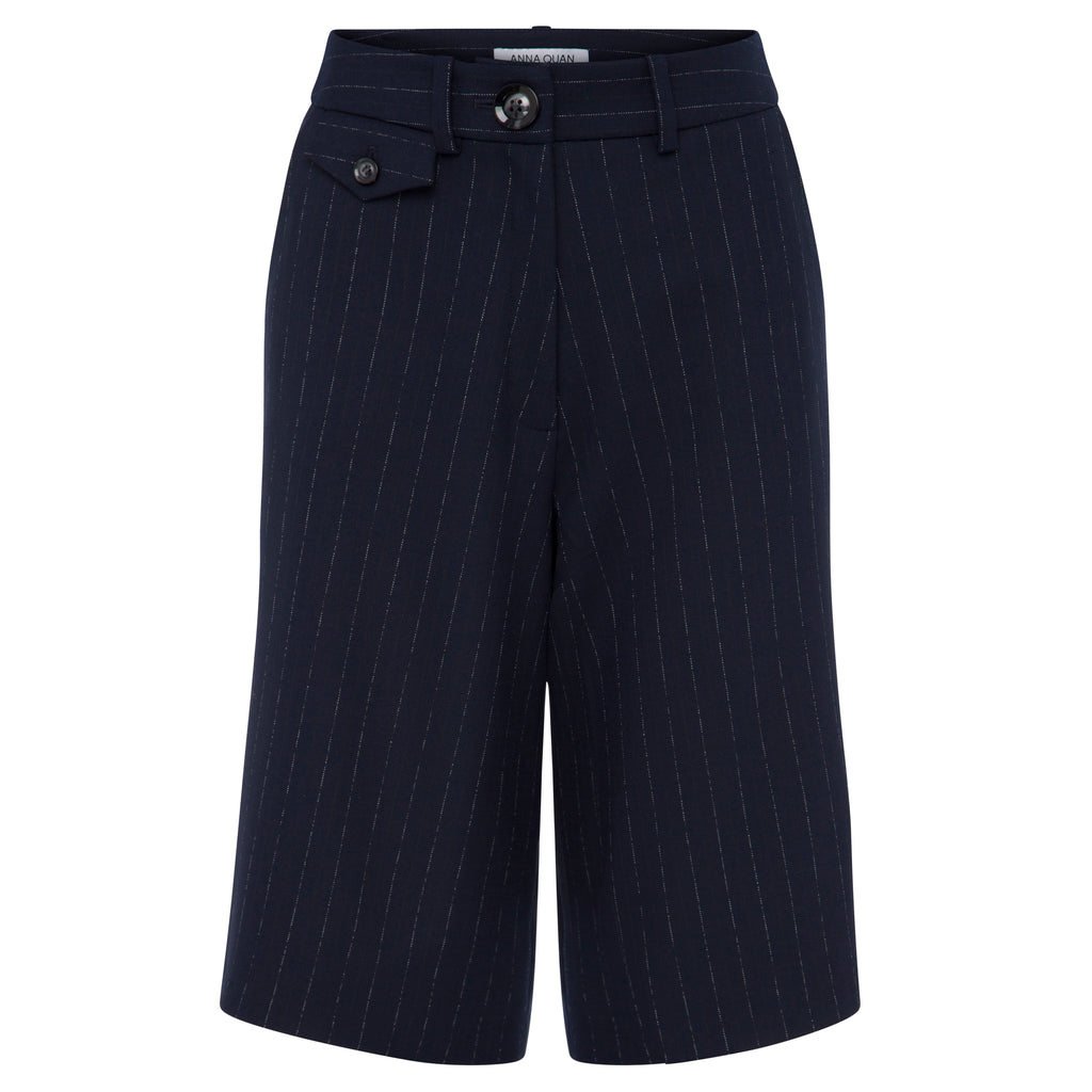 RAE short (CHALK STRIPE)