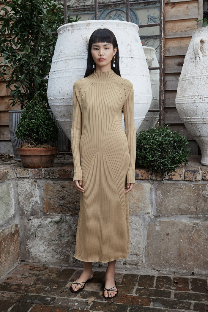 MABEL Dress (CAMEL)