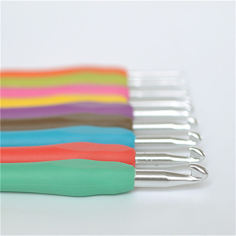 9PCs Mixed Metal Crochet Hook
