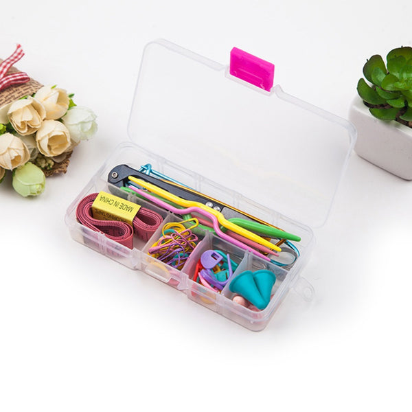 58pcs Crochet Kit + Case