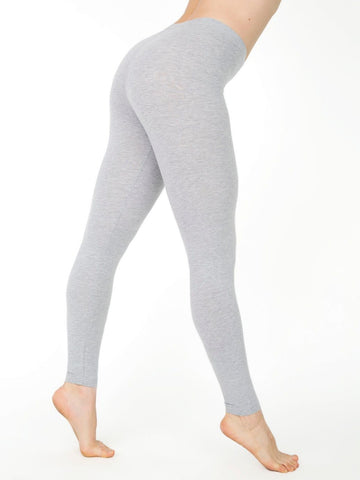 Gray Elastic Leggings