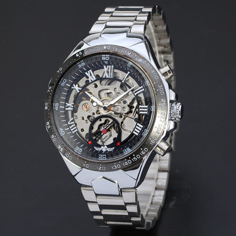 Skeleton Style Mechanical Watch