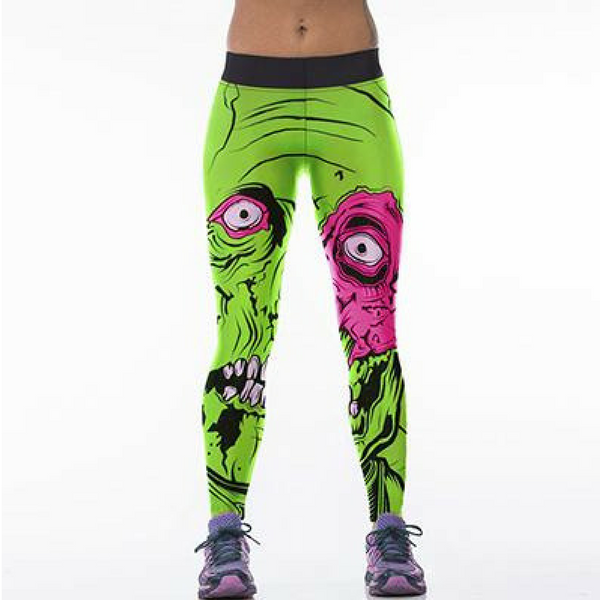 Green Zombie Leggings