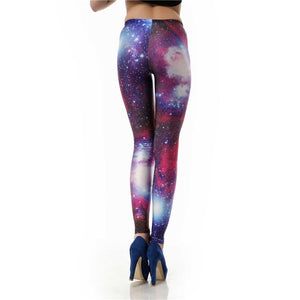 Sexy Purple Galaxy Leggings