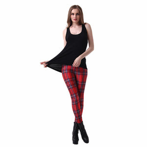 Scottish Plaid Leggings