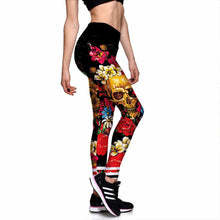 Skeleton Lily Rose Leggings