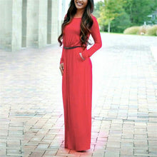 Long Sleeve Maxi Dress