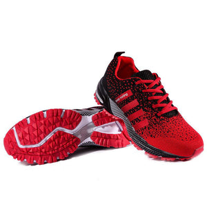 Red Athletic Running Shoes