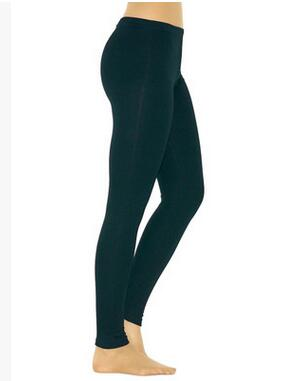 Dark Green Elastic Leggings