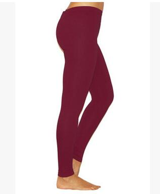 Garnet Elastic Leggings