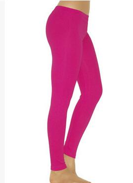 Pink Elastic Leggings