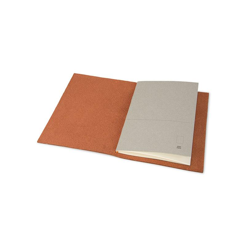 Notebook A6 - Grand voyager pocket - Cognac
