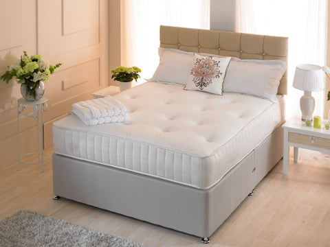 Fenton Orthopaedic Tufted Memory Sprung Mattress – Desire Beds