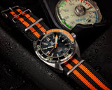 Ocean Crawler Core Diver - Black/Orange - V2