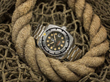 Esoteric Bathyal Gris Pre-order - Ocean Crawler Watch Co.