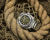 Esoteric Bathyal Verde Pre-order - Ocean Crawler Watch Co.