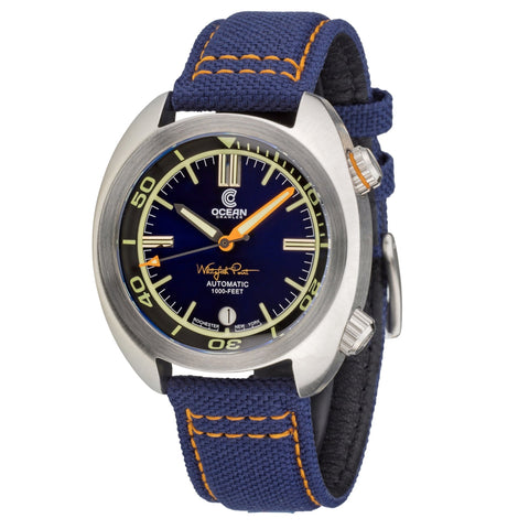 Great Lakes Diver - Blue - Preorder - Ocean Crawler Watch Co.