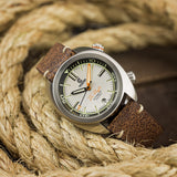 Great Lakes Diver - Silver - Preorder - Ocean Crawler Watch Co.