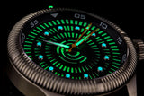 Lume Rush Diver - Stainless Steel