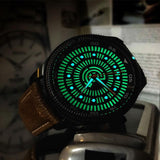 Lume Rush Diver - Black PVD - Ocean Crawler Watch Co.