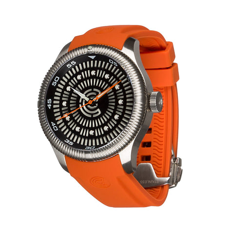 Lume Rush Diver - Stainless Steel - Ocean Crawler Watch Co.