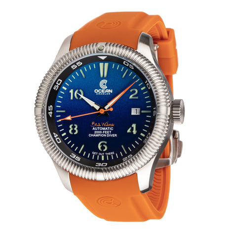 Ocean Crawler Champion Diver - G Blue - Ocean Crawler Watch Co.