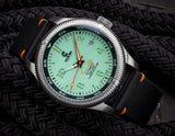 Ocean Crawler Champion Diver - Mint - Ocean Crawler Watch Co.