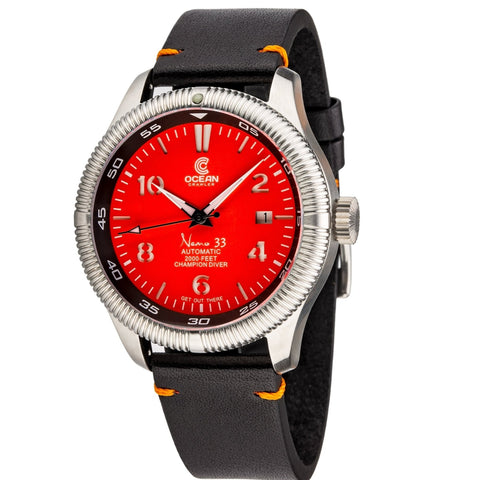 Ocean Crawler Champion Diver - Orange - Ocean Crawler Watch Co.